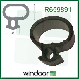 4.6mm Offset Bubble Gasket Seal (per metre)