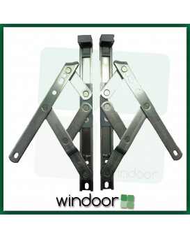 "8""  Top Hung Window Friction Hinge (Pair) - 13mm Stack Height - Securistyle Defender"