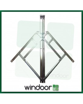 "20""  Top Hung Window Friction Hinge (Pair) - 13mm Stack Height - Securistyle Defender"
