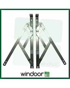 "12""  Side Hung Window Friction Hinge (Pair) - 13mm Stack Height - Securistyle Defender"