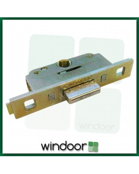 Saracen Upvc Window Gearbox 22mm Backset Lock - Push and Twist Rod Type