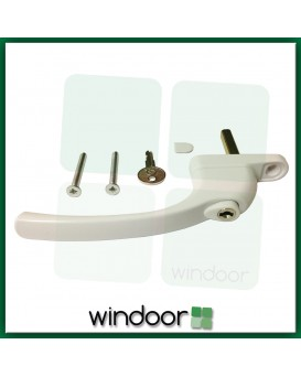 GreenteQ Inline White Espag Window Handle