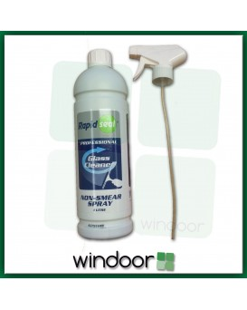Rapidseal Professional Non-Smear Glass Cleaner - 1 Litre