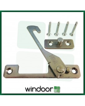 uPVC Window Restrictor (Right Handed) – Pushout Hook – Child Lock Safety Catch