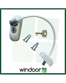 MAX6MUM SECURITY Lockable Baby and Child Window-Safe Restrictor