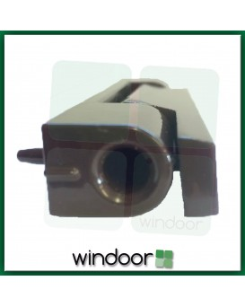 115mm Dark Brown Flat Butt Door Hinge - Avocet